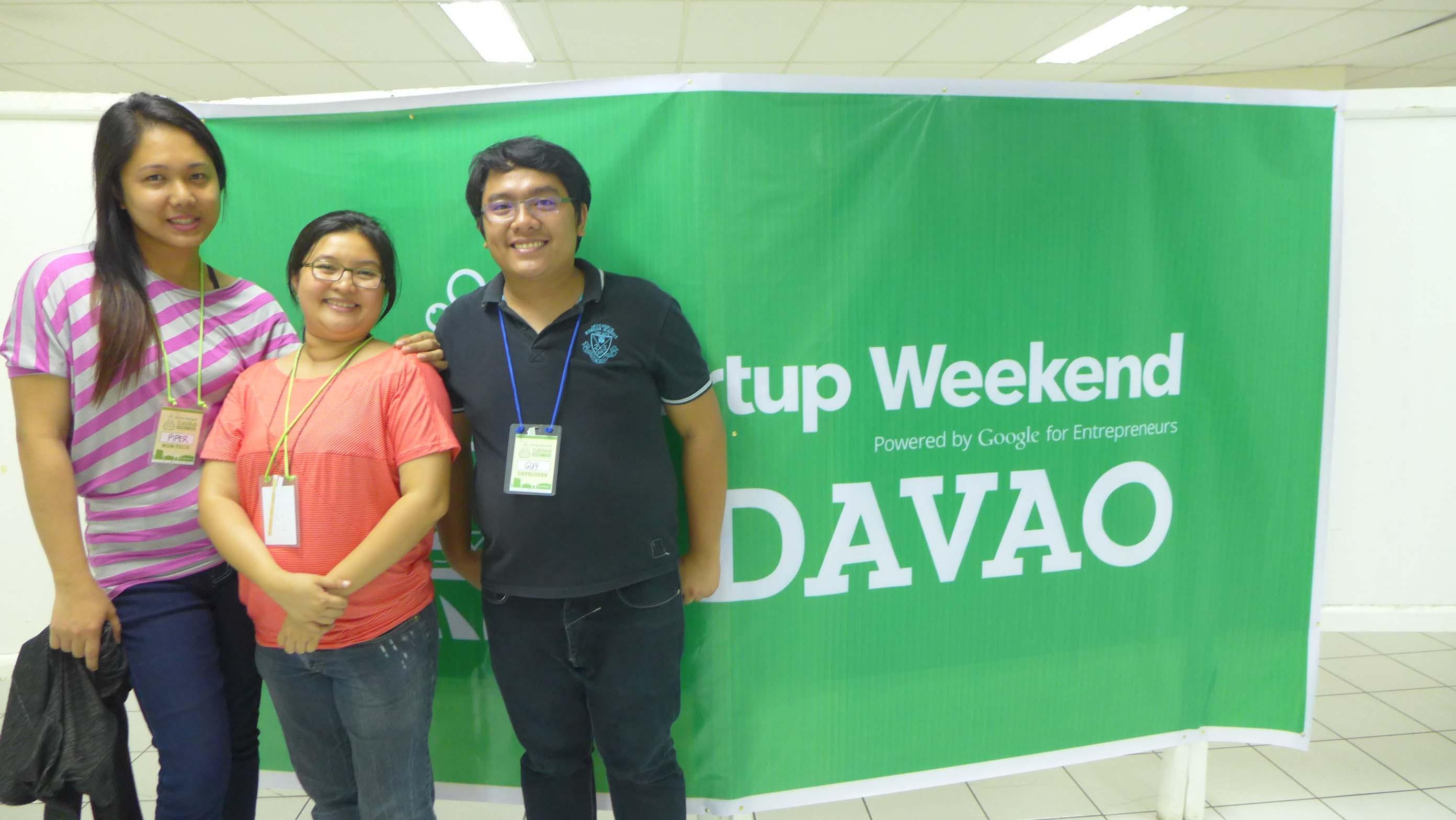 Onlinejobs.ph Jobseekers Participating in StartUp Weekend