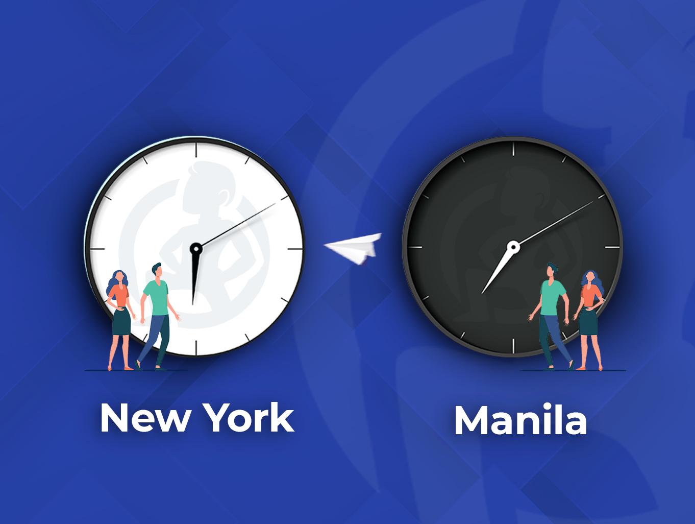 Between New York and Manila_