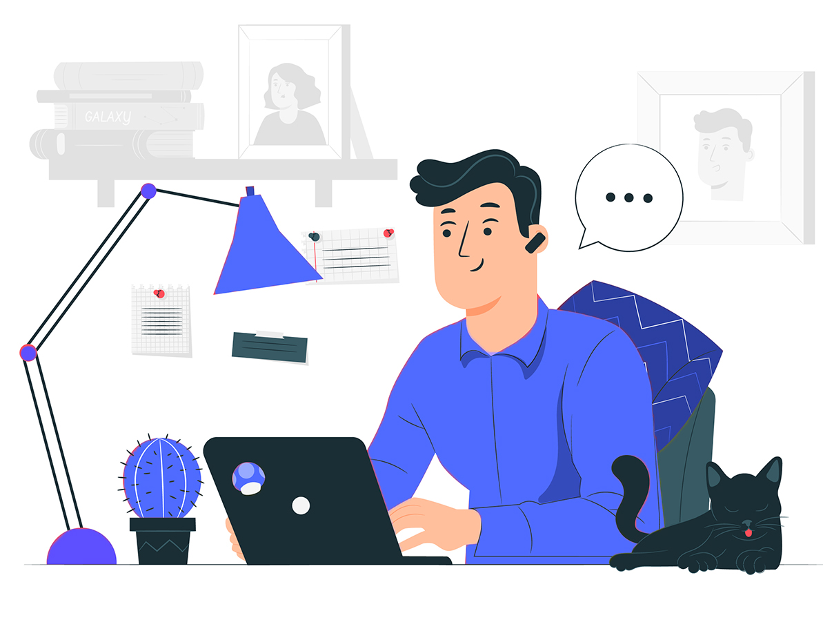 what is an online worker_