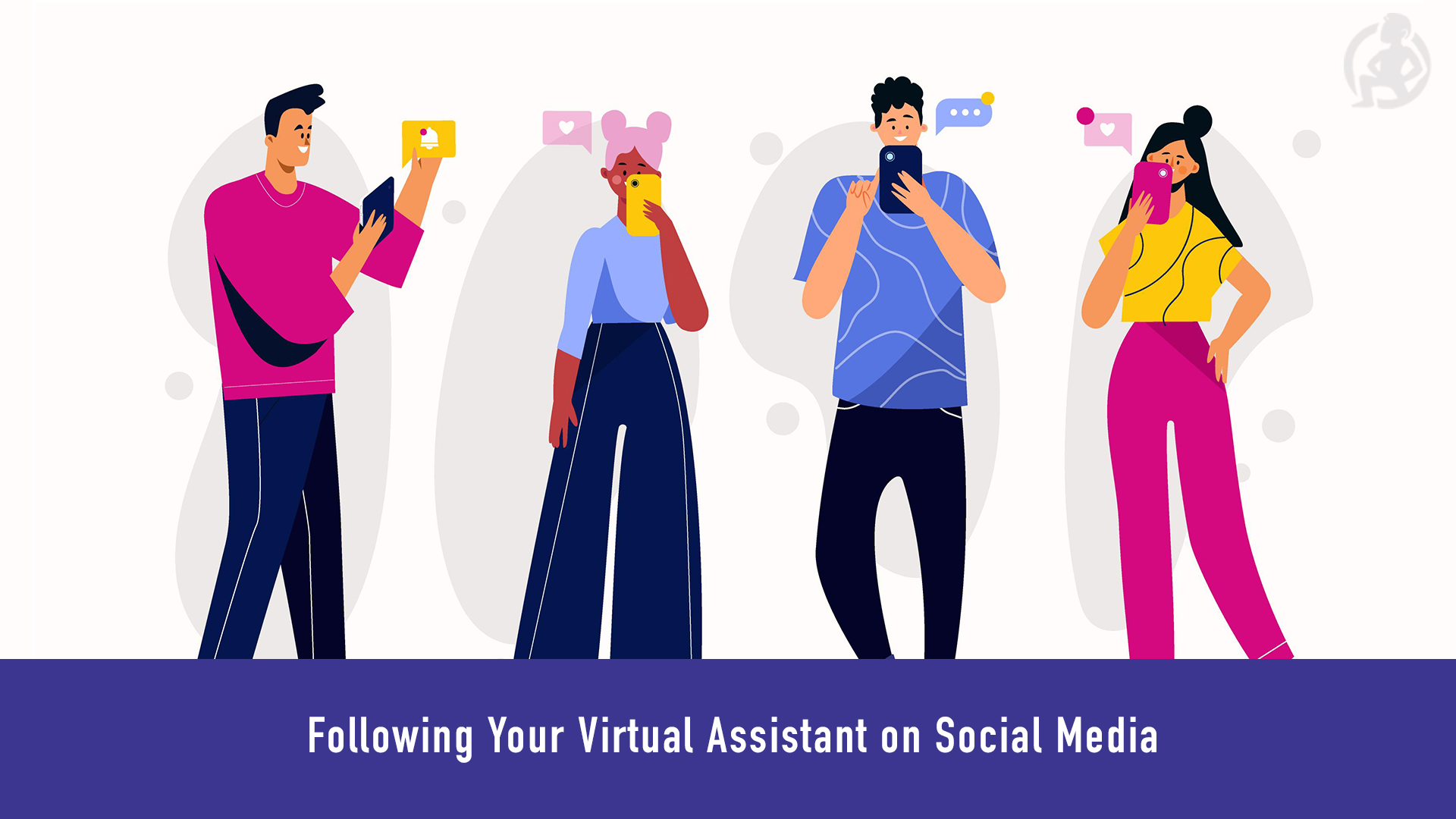 Following Your Virtual Assistant on Social Media