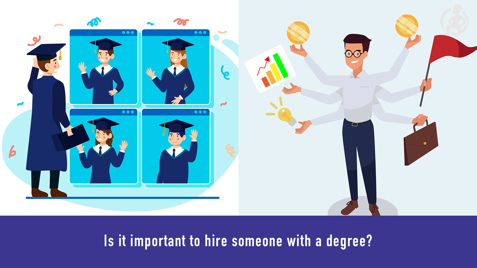 Is it important to hire someone with a degree_