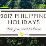 2017 philippine holidays