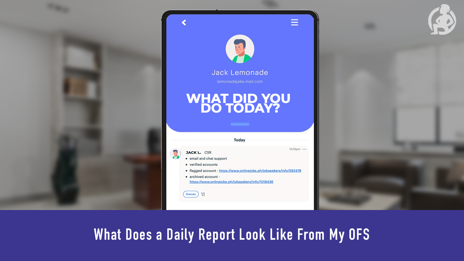 What Does a Daily Report Look Like From My OFS – Practical Advice